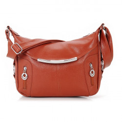 Women PU Leather Crossbody Bags Shoulder Bags Mid Aged Ladies Casual Bags