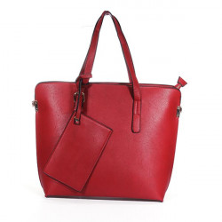 Frauen PU Einfache Handtasche Tote Bag Shoudler