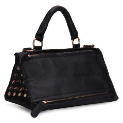 Women Punk Style Rivets Triangle bag