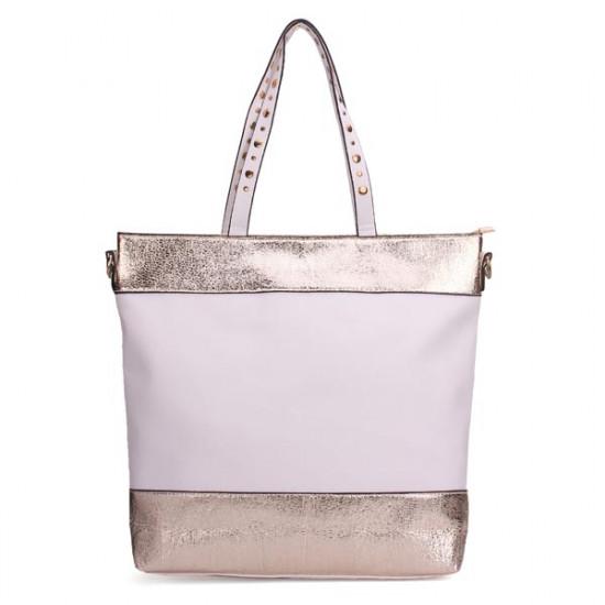 Frauen einfach Nieten Handtasche 2021