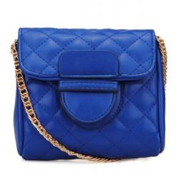 Women Small Plaid Chain Bag Shoulder Bag