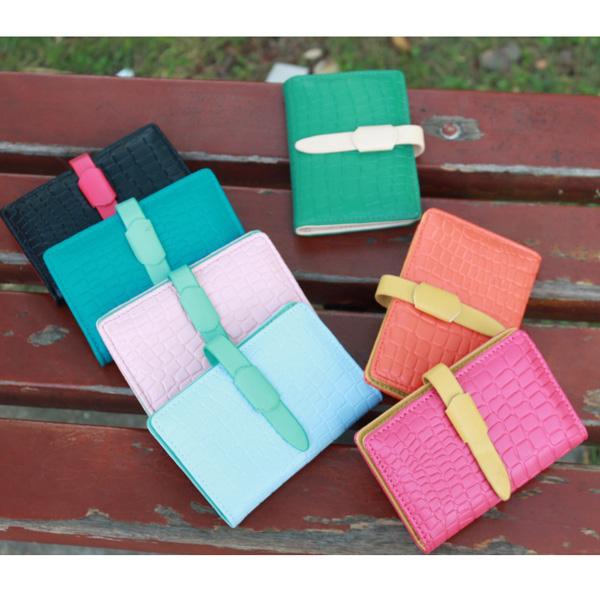Women Stone Pattern Cards Holder Women's Bags
