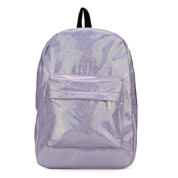 Frauen Unisex Laser Color Rucksäcke adrette Art Students Rucksäcke Buch Tasche Damentaschen für Frauen