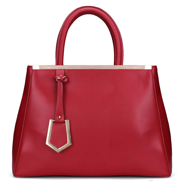 Women Vintage Red OL PU Leather Handbag Women's Bags