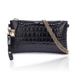 Frauen Krokodil Muster Kette Clutch Handtasche Schulter diagonale Taschen Damentaschen für Frauen