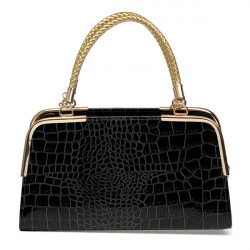 Women's Stone Pattern Totes PU Leather Shoulder Bags