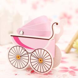 10stk koreanische Hochzeit Gunsten Babyparty Kinderwagen Pralinenschachtel