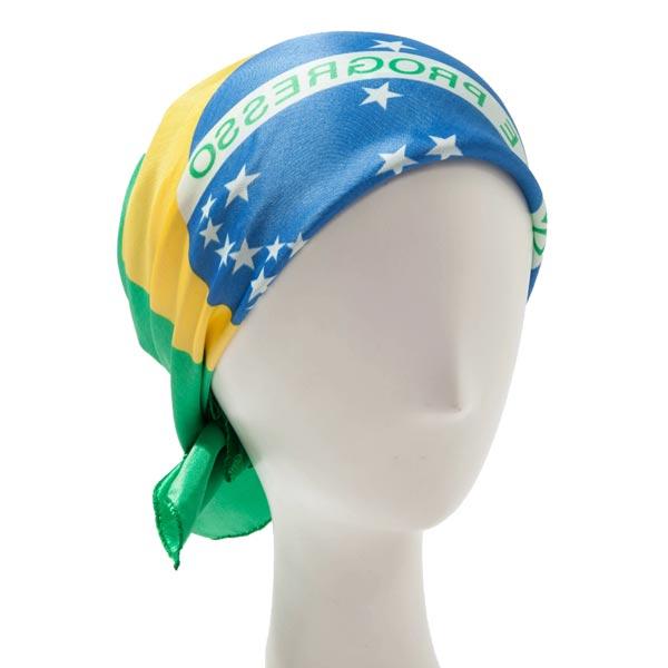 Brasilianska Flaggan Halsduk Damkläder