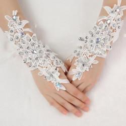 Braut Hochzeitskleid Handschuhe Brautbühnenaufführungen Glove