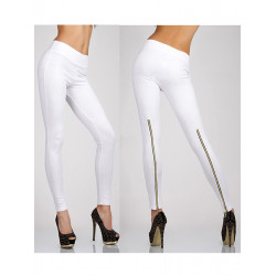 Casual Slim Stretch Pants Zipper Yoga High Waist Legging Trousers For Women