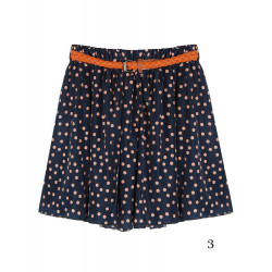 Chiffong Blomster Printed Bag Hip Render Shorts BYXKJOL