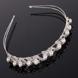 Classic Bridal Crown Jewelry Hair Bands Wedding Headpieces Headwear