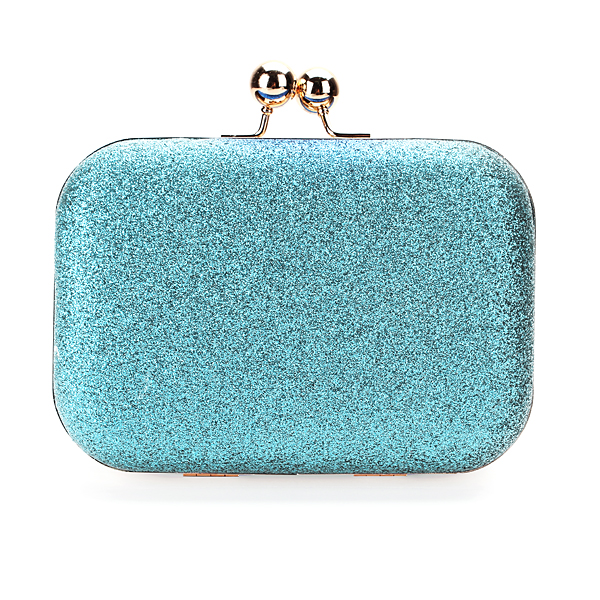Clutch Evening Party Glitter Kæde Håndtaskes Skuldertaske Wallet Pung Dametøj