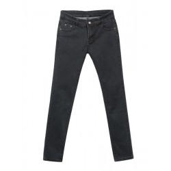 Denim Zipper Låg Midja Begränsa Feet Skinny Lång Jeans
