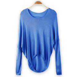 European Style Kvinder Candy Color Pullover Langærmet Trøje Sweater