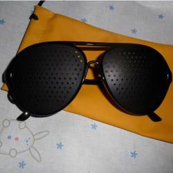 SYNFÖRMÅGA Förbättra Ögon Care Pinhole Glasögon
