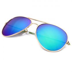 Fashion Cool Unisex Dazzle Lens UV Protection Sunglasses