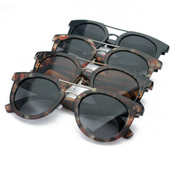 Mode Cool Unisex Plast Stent UV-skydd Solglasögon