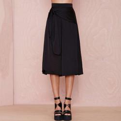 Fashion  Losse Hight Waist Black Pants