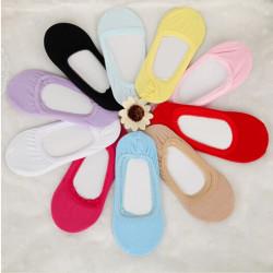 Mode Low Cut Loafer Unsichtbare weiche elastische Boot Liner Socken
