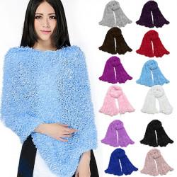 Fashion Magic Scarf Multipurpose Soft Shawl Neck Warmer Wrap Cardigan