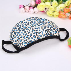 Fashion Winter Warm Dust Mask Cotton Mouth-muffs Leopard Guaze Mask