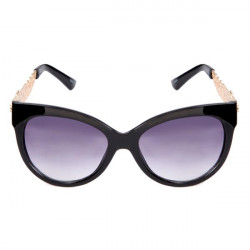 Female Vintage PC Metal Hollow Out Lace Edge Design Sunglasses