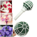 Foam Blumenstrauß Haltergriff Brautblumenhochzeit Blumenhalter DIY Damenbekleidung