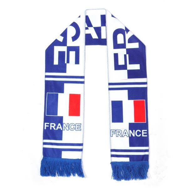 """France Football Fans """"Hurra Mascot Halsduk Damkläder"""