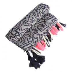 Geometrische Muster Cotton großes Handtuch Schal