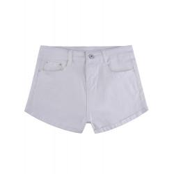 Heiße Sommer Frauen lösen hohe Taillen Kurzjeanshosen einen Linienstil