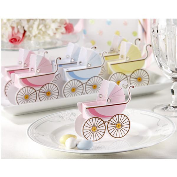 Korean Wedding Favor Babyparty Kinderwagen Pralinenschachtel Damenbekleidung