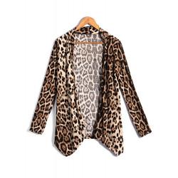 Leopard Druck Oberbekleidung