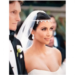 Luxury Crystal Rhinestone Hair Accessories Bridal Wedding Headpiece