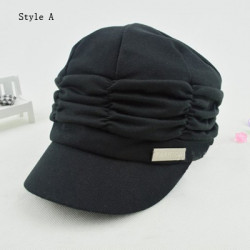 New Fashion Fold Cotton Hat Two Styles