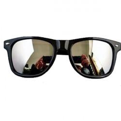 Reflektierende Sonnenbrille Glas Rahmen