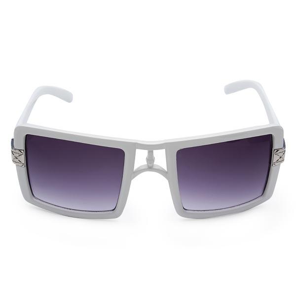Retro Large Frame Sunglasses Polarizer Gradient Elegant Glasses Women's Clothing