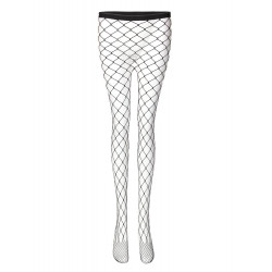 Sexy Black Mesh Sheer Thigh High  Fishnet Tight Legging