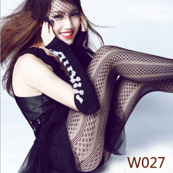 Sexy  Fishnet Pattern Jacquard Stockings Pantyhose Tights