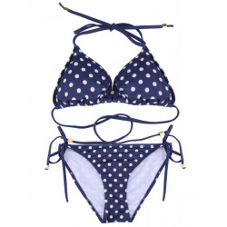 Sexy Polka Dot Seamless Bikini