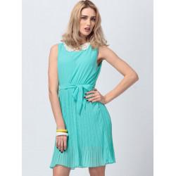 Sleeveless Chiffon Casual Dress
