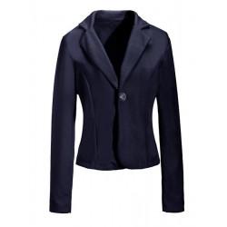 Schlanke One Button Anzüge Jacken