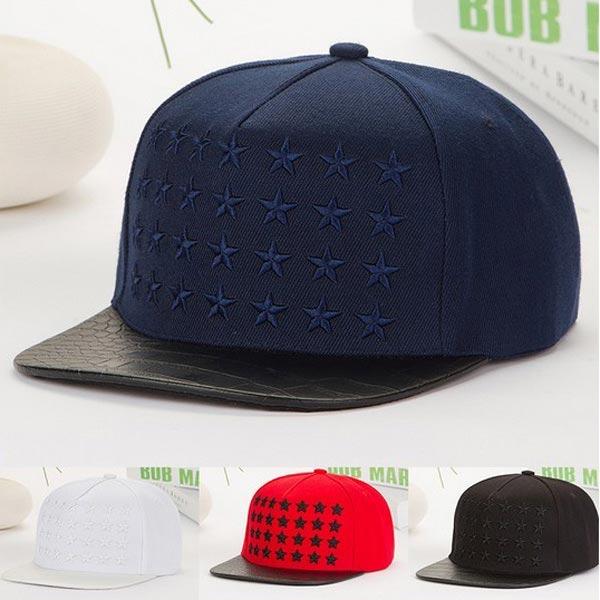 Star Hip-hop Cap Basebollkeps Damkläder