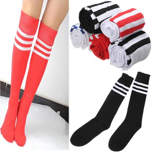 Strips Fotbollsstrumpor Damkläder