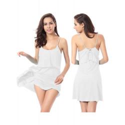 Summer Sexy Beach Bikini Dress Strap Swimwear Veil Smock Dress