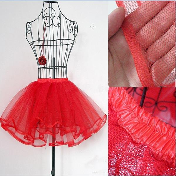 Tutu Balett Kjol Tyll Petticoat Pettiskirt Rockabilly Net Kjol Damkläder