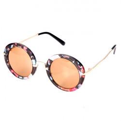 Vintage Mode Multi Color Stor Ram Solglasögon