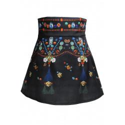 Vintage Blomst Kort Nederdel
