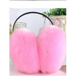Women Girls Winter Cute Imitation Rabit Fur Warm Earmuffs