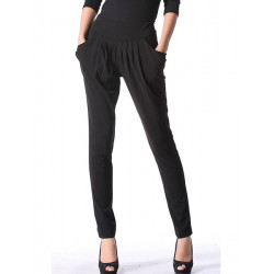 Women OL Chiffon Pants Fashion Skinny Harem Trousers Plus Size